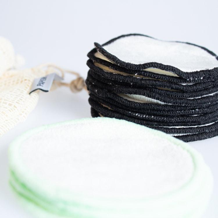 Wasbare wattenschijfjes | 16 stuks | + waszakje | PAPER & BOO